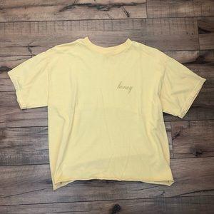 Brandy Melville honey shirt